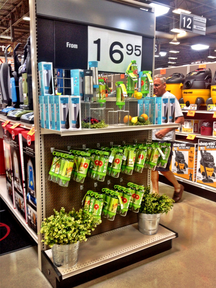 Zing Anything Gains Optimal Placement On Endcap Display At