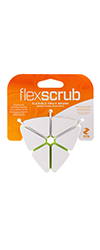 flex scrub fruit brush