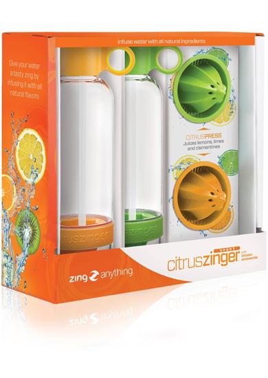 Zinganything - Citrus Zinger Sport