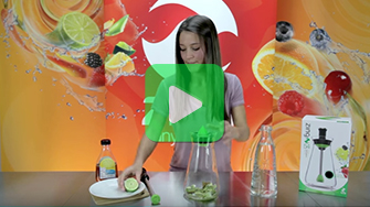 Zing 54 Recipes - Kiwi Lime Water